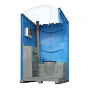 meridian fresh flush portable toilet blue
