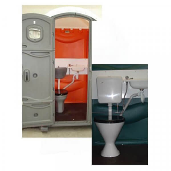 Shorelink meridian mains connect portable toilet inside 2