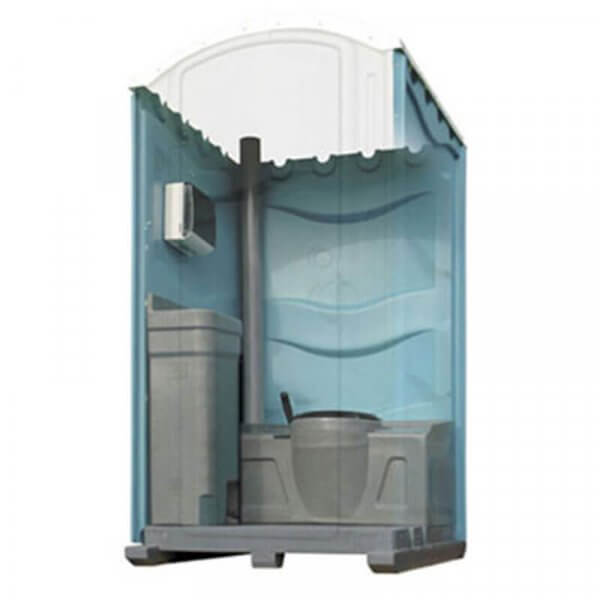 Shorelink meridian recirculating flush portable toilet blue