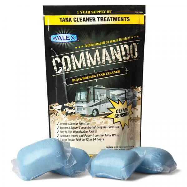 Walex Commando rv holding tank cleaner