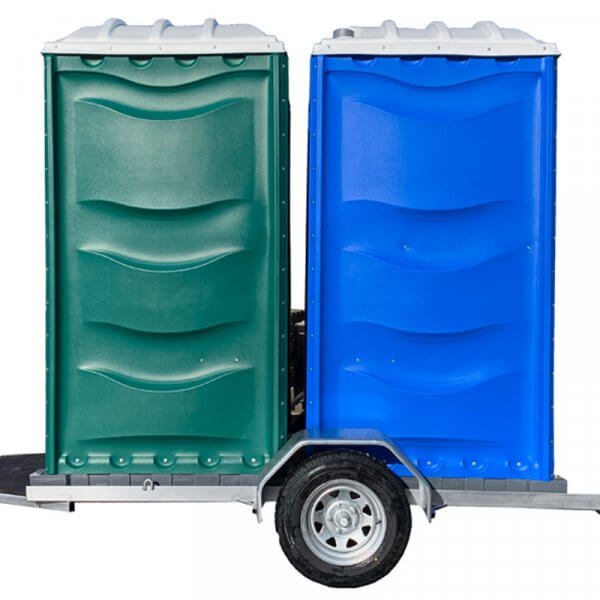 Shorelink double traliered portable toilet