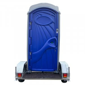 Shorelink single traliered portable toilet