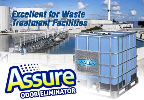 Walex Assure Odour Eliminator for treatment facilities