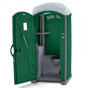 Glacier recirculating flush portable toilet